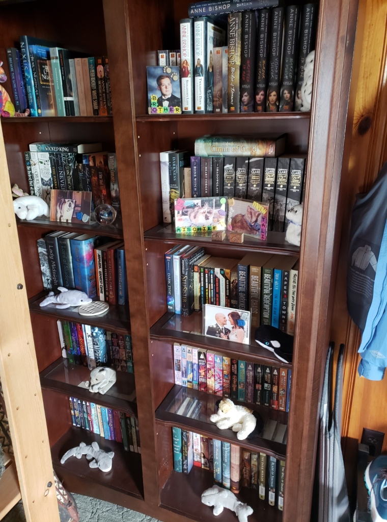 One of my personal bookcases.